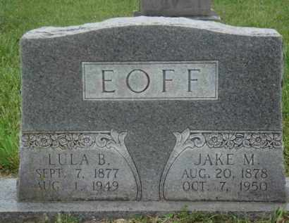 EOFF, LULA B. - Boone County, Arkansas | LULA B. EOFF - Arkansas Gravestone Photos