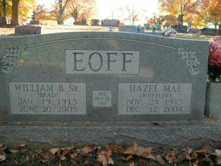 WHEELER EOFF, HAZEL MAE - Boone County, Arkansas | HAZEL MAE WHEELER EOFF - Arkansas Gravestone Photos