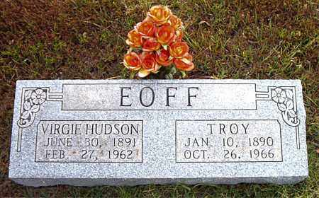 HUDSON EOFF, VIRGIE - Boone County, Arkansas | VIRGIE HUDSON EOFF - Arkansas Gravestone Photos