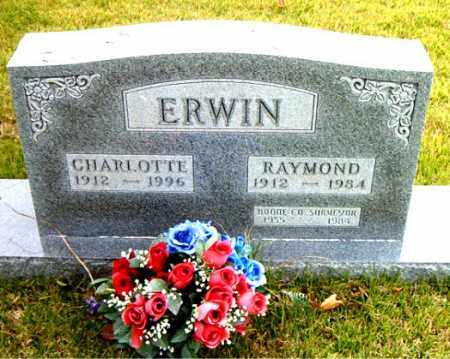 ERWIN, RAYMOND - Boone County, Arkansas | RAYMOND ERWIN - Arkansas Gravestone Photos