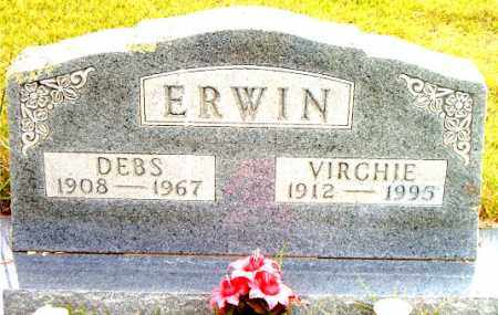 ERWIN, DEBS - Boone County, Arkansas | DEBS ERWIN - Arkansas Gravestone Photos