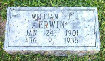 ERWIN, WILLIAM    E. - Boone County, Arkansas | WILLIAM    E. ERWIN - Arkansas Gravestone Photos
