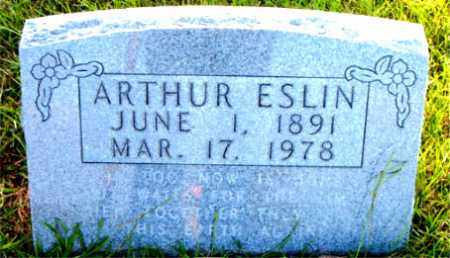 ESLIN, ARTHUR - Boone County, Arkansas | ARTHUR ESLIN - Arkansas Gravestone Photos