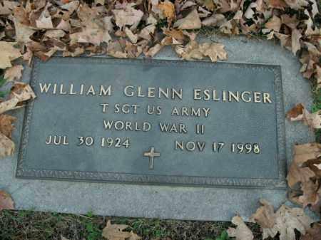 ESLINGER  (VETERAN WWII), WILLIAM GLENN - Boone County, Arkansas | WILLIAM GLENN ESLINGER  (VETERAN WWII) - Arkansas Gravestone Photos