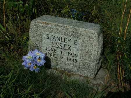 ESSEX, STANLEY E. - Boone County, Arkansas | STANLEY E. ESSEX - Arkansas Gravestone Photos