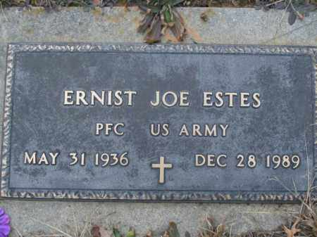 ESTES  (VETERAN), ERNIST JOE - Boone County, Arkansas | ERNIST JOE ESTES  (VETERAN) - Arkansas Gravestone Photos