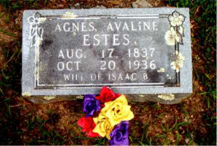 ESTES, AGNES AVALINE - Boone County, Arkansas | AGNES AVALINE ESTES - Arkansas Gravestone Photos