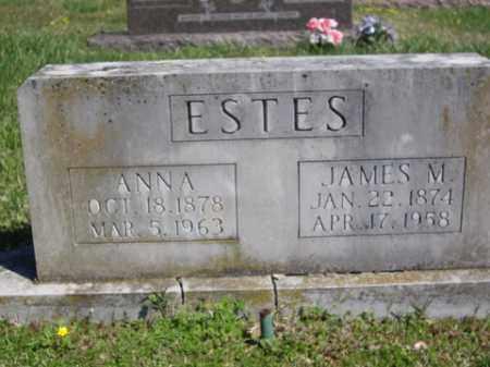 ESTES, ANNA - Boone County, Arkansas | ANNA ESTES - Arkansas Gravestone Photos