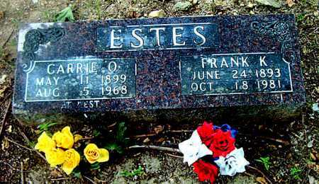 ESTES, CARRIE O. - Boone County, Arkansas | CARRIE O. ESTES - Arkansas Gravestone Photos