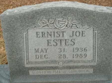 ESTES, ERNIST JOE - Boone County, Arkansas | ERNIST JOE ESTES - Arkansas Gravestone Photos