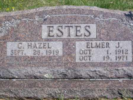 ESTES, ELMER J. - Boone County, Arkansas | ELMER J. ESTES - Arkansas Gravestone Photos