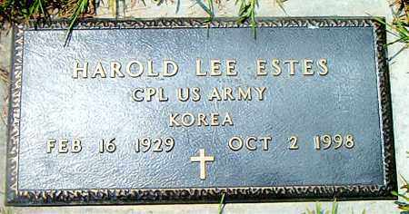 ESTES  (VETERAN KOR), HAROLD LEE - Boone County, Arkansas | HAROLD LEE ESTES  (VETERAN KOR) - Arkansas Gravestone Photos