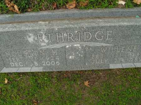 ETHRIDGE, WILLENE - Boone County, Arkansas | WILLENE ETHRIDGE - Arkansas Gravestone Photos