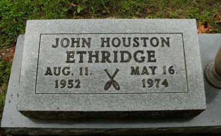 ETHRIDGE, JOHN HOUSTON - Boone County, Arkansas | JOHN HOUSTON ETHRIDGE - Arkansas Gravestone Photos