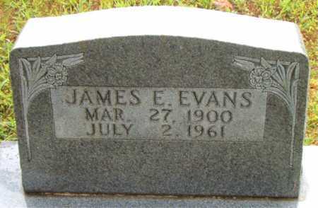 EVANS, JAMES    E - Boone County, Arkansas | JAMES    E EVANS - Arkansas Gravestone Photos