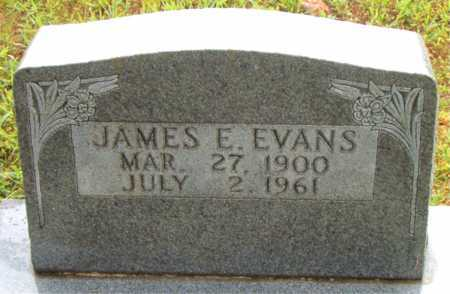 EVANS, JAMES  E - Boone County, Arkansas | JAMES  E EVANS - Arkansas Gravestone Photos