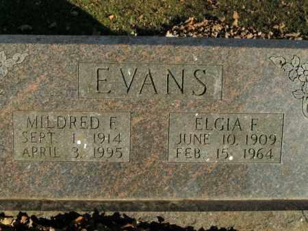 EVANS, MILDRED F. - Boone County, Arkansas | MILDRED F. EVANS - Arkansas Gravestone Photos