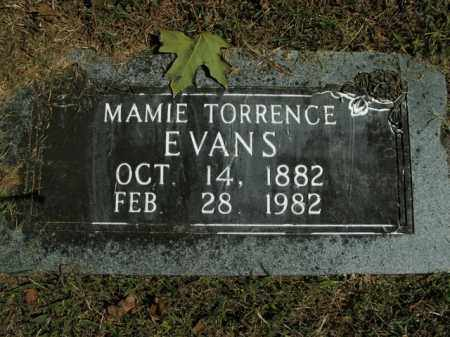 EVANS, MAMIE TORRENCE - Boone County, Arkansas | MAMIE TORRENCE EVANS - Arkansas Gravestone Photos