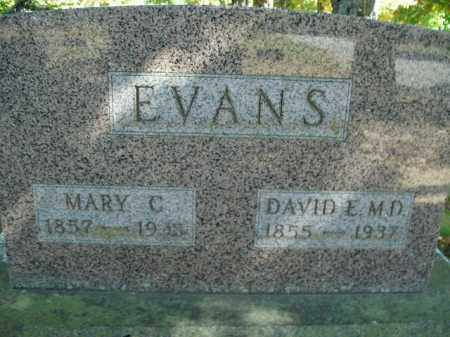 EVANS, DAVID E. - Boone County, Arkansas | DAVID E. EVANS - Arkansas Gravestone Photos