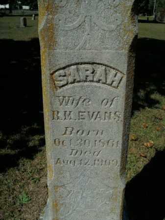 EVANS, SARAH - Boone County, Arkansas | SARAH EVANS - Arkansas Gravestone Photos