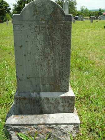 EVENS, ELIZA B. - Boone County, Arkansas | ELIZA B. EVENS - Arkansas Gravestone Photos