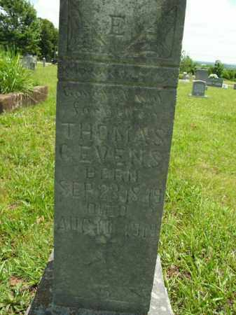 EVENS, THOMAS C. - Boone County, Arkansas | THOMAS C. EVENS - Arkansas Gravestone Photos