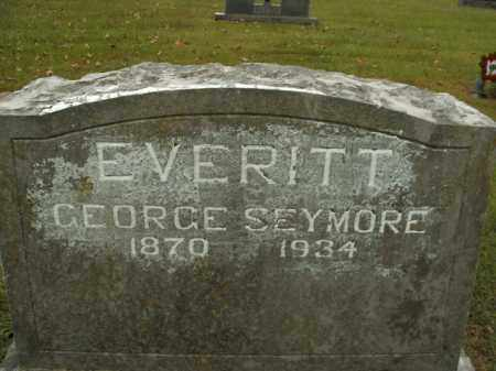 EVERITT, GEORGE SEYMORE - Boone County, Arkansas | GEORGE SEYMORE EVERITT - Arkansas Gravestone Photos