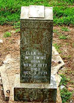 EWING, ELLA - Boone County, Arkansas | ELLA EWING - Arkansas Gravestone Photos