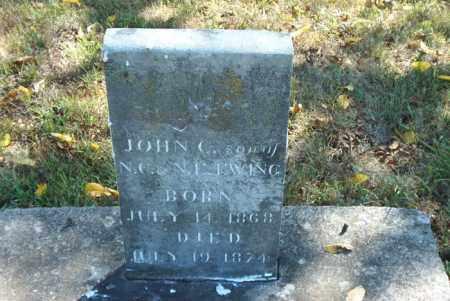 EWING, JOHN  C. - Boone County, Arkansas | JOHN  C. EWING - Arkansas Gravestone Photos