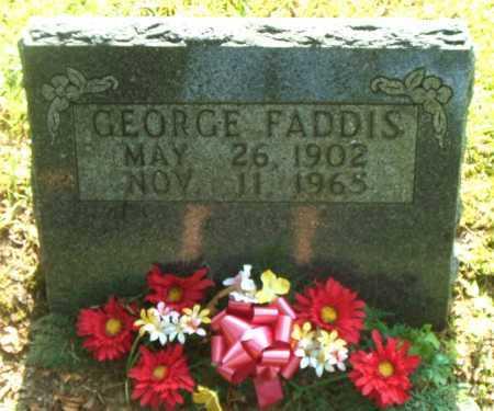 FADDIS, GEORGE - Boone County, Arkansas | GEORGE FADDIS - Arkansas Gravestone Photos
