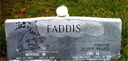 FADDIS, MINNIE  M. - Boone County, Arkansas | MINNIE  M. FADDIS - Arkansas Gravestone Photos