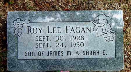 FAGAN, ROY LEE - Boone County, Arkansas | ROY LEE FAGAN - Arkansas Gravestone Photos