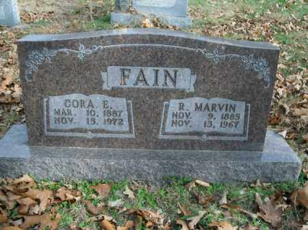 FAIN, CORA EVALINE - Boone County, Arkansas | CORA EVALINE FAIN - Arkansas Gravestone Photos