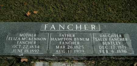 MCKENNON FANCHER, ELIZA - Boone County, Arkansas | ELIZA MCKENNON FANCHER - Arkansas Gravestone Photos