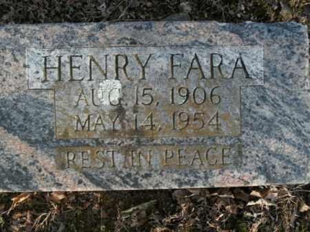 FARA, HENRY - Boone County, Arkansas | HENRY FARA - Arkansas Gravestone Photos