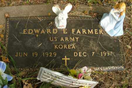 FARMER  (VETERAN KOR), EDWARD E. - Boone County, Arkansas | EDWARD E. FARMER  (VETERAN KOR) - Arkansas Gravestone Photos
