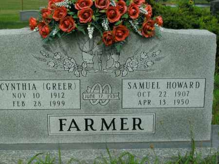 FARMER, CYNTHIA - Boone County, Arkansas | CYNTHIA FARMER - Arkansas Gravestone Photos