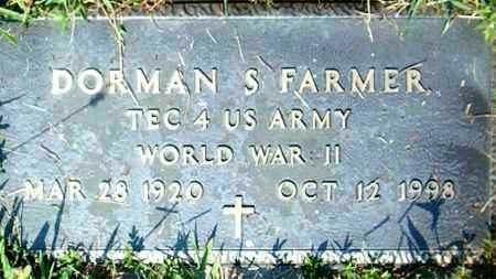 FARMER  (VETERAN WWII), DORMAN  S. - Boone County, Arkansas | DORMAN  S. FARMER  (VETERAN WWII) - Arkansas Gravestone Photos