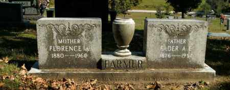 FARMER, ELDER A.E. - Boone County, Arkansas | ELDER A.E. FARMER - Arkansas Gravestone Photos