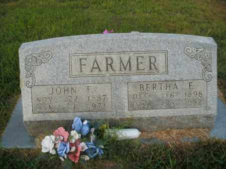 FARMER, BERTHA E. - Boone County, Arkansas | BERTHA E. FARMER - Arkansas Gravestone Photos