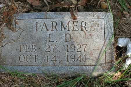 FARMER, L.D. - Boone County, Arkansas | L.D. FARMER - Arkansas Gravestone Photos