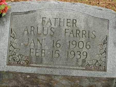 FARRIS, ARLUS - Boone County, Arkansas | ARLUS FARRIS - Arkansas Gravestone Photos