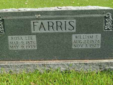 FARRIS, WILLIAM F. - Boone County, Arkansas | WILLIAM F. FARRIS - Arkansas Gravestone Photos