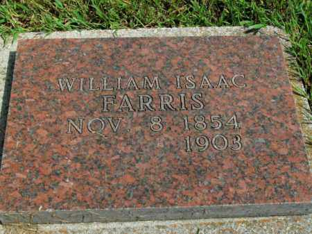 FARRIS, WILLIAM ISAAC - Boone County, Arkansas | WILLIAM ISAAC FARRIS - Arkansas Gravestone Photos