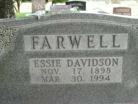 FARWELL, ESSIE - Boone County, Arkansas | ESSIE FARWELL - Arkansas Gravestone Photos