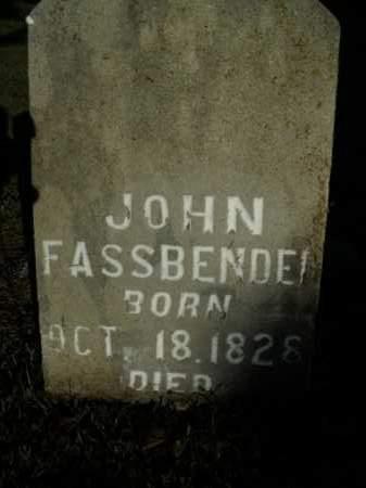 FASSBENDER, JOHN - Boone County, Arkansas | JOHN FASSBENDER - Arkansas Gravestone Photos
