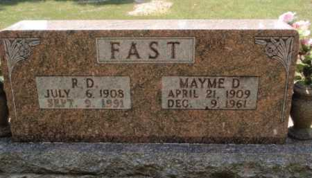 FAST, MAYME D. - Boone County, Arkansas | MAYME D. FAST - Arkansas Gravestone Photos
