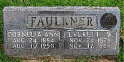 FAULKNER, EVERETT W. - Boone County, Arkansas | EVERETT W. FAULKNER - Arkansas Gravestone Photos