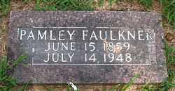 FAULKNER, PAMLEY - Boone County, Arkansas | PAMLEY FAULKNER - Arkansas Gravestone Photos