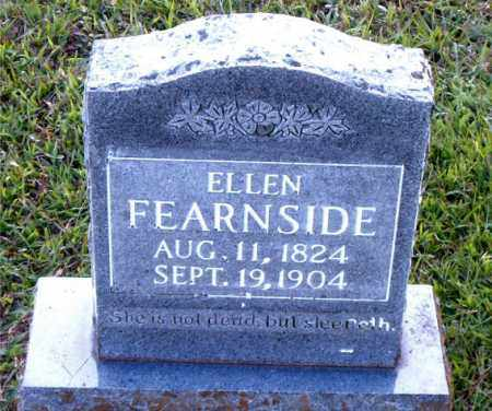 FEARNSIDE, ELLEN - Boone County, Arkansas | ELLEN FEARNSIDE - Arkansas Gravestone Photos